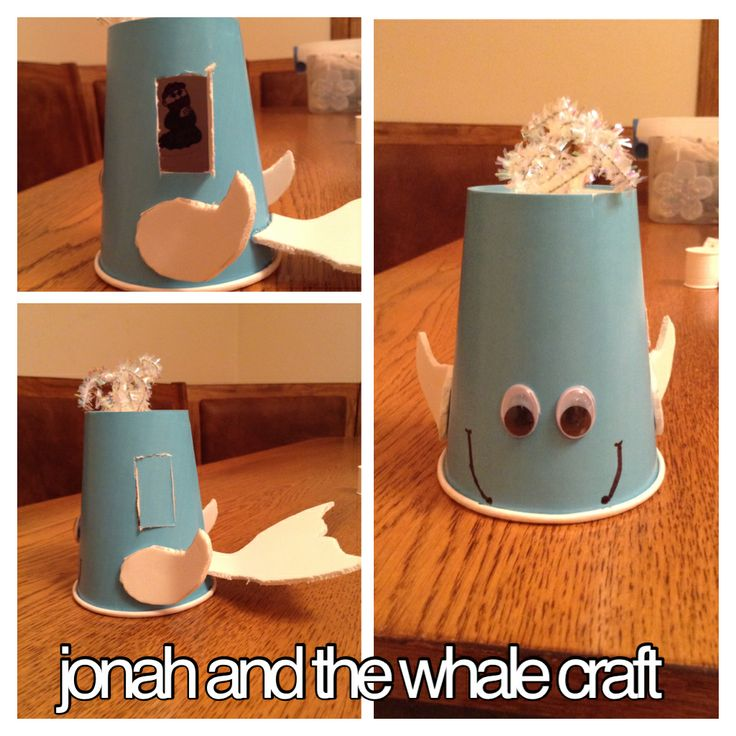 Jonah and Whale Craft