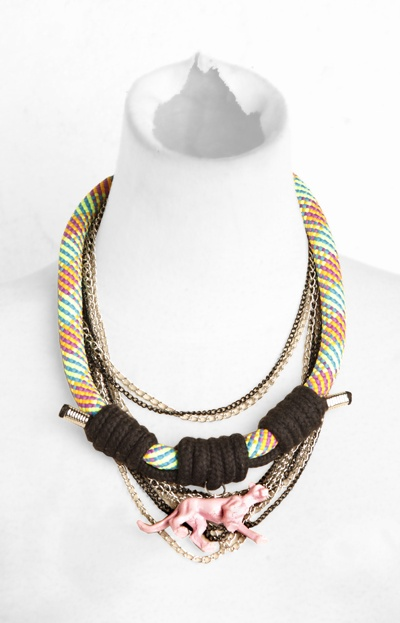 'Animal In Style' Neckpiece
