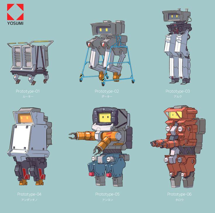 history of robot development/  ヨスミ製作所 2足歩行ロボの歴史