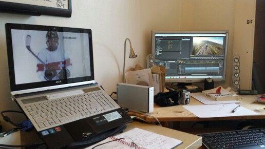 Multitasking! Olympics and editing.