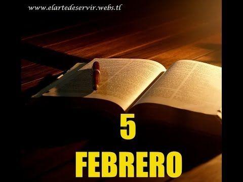 Lectura de la Biblia en un año (Febrero 5 Biblia en Audio)