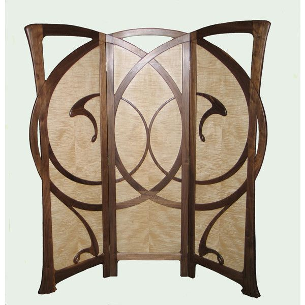autumn furniture. william doub custom furniture autumn wind art nouveau screen liked on polyvore featuring home