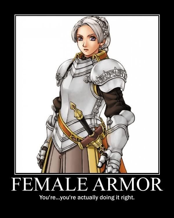 Female Garb = Right