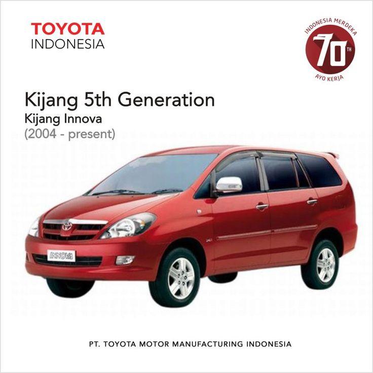 Jika pada awal konsep Kijang generasi pertama adalah Basic Utility Vehicles atau kendaraan kelas bawah, maka Kijang generasi yang diluncurkan pada tahun 2004 ini lebih dikategorikan sebagai kendaraan kelas menengah. Kijang Innova hadir dengan dari hasil 80% konten lokal Indonesia. #InfoTMMIN #KijangHistory