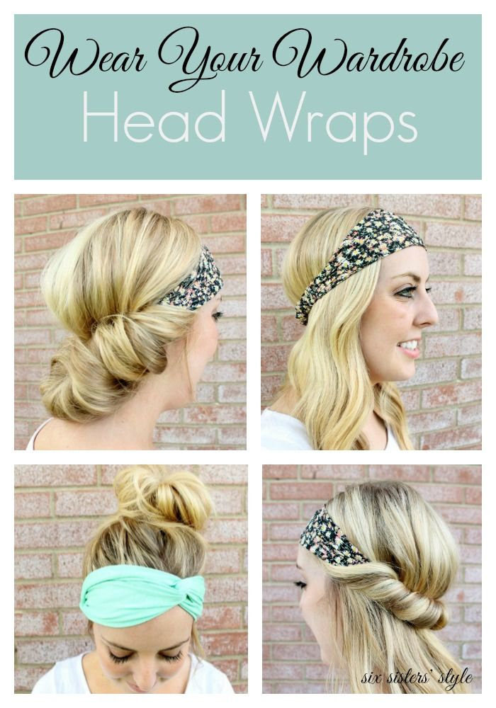 Head Wraps are the perfect way to keep hair out of your face for the hot summer!