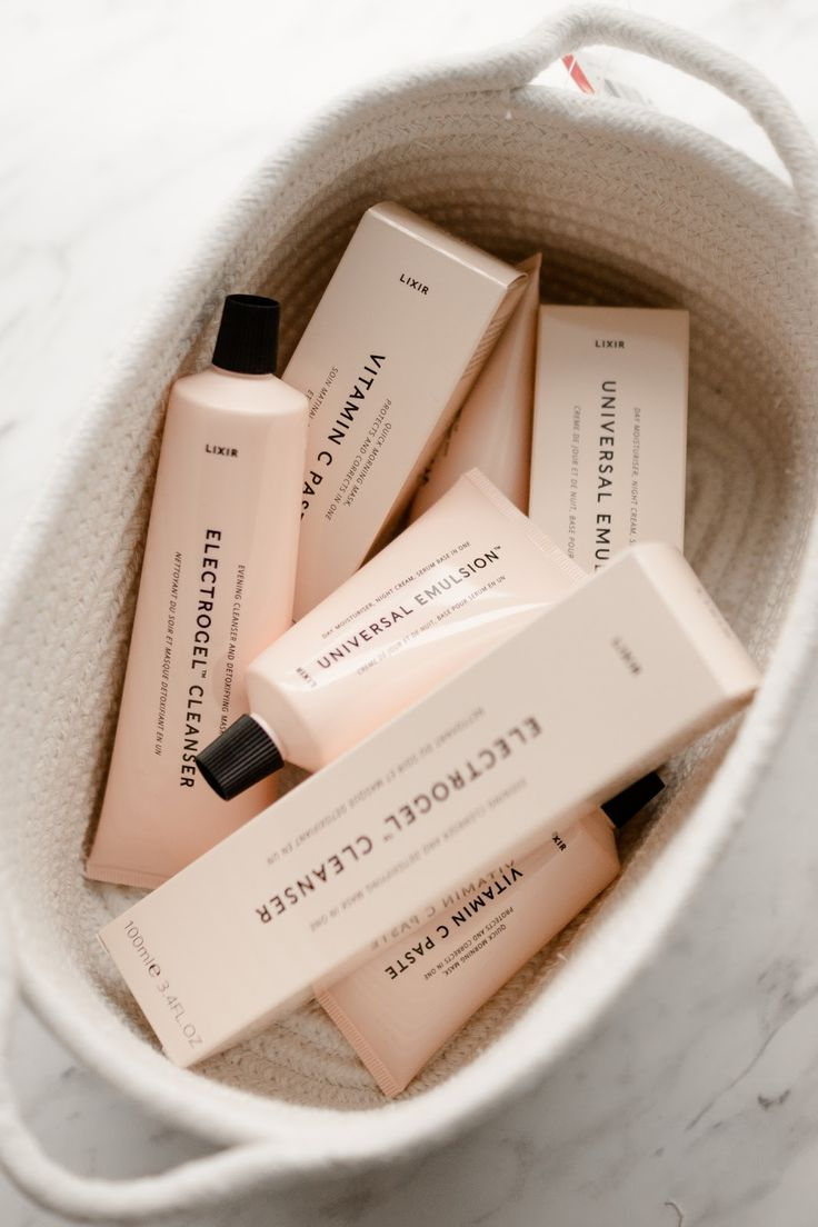 LIXIRSKIN SKINCARE // FIRST IMPRESSIONS.