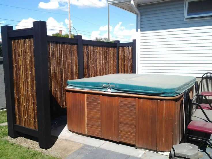 32 Best Hot Tub Privacy / Spa Enclosures Images On