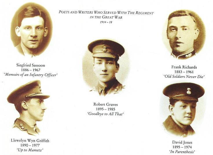 Some of the RWF War Poets