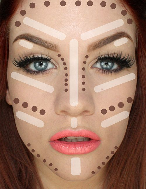 Contouring Tutorial: How To Make Face Look Slimmer. Best tips on how to achieve perfect looking foundation. Makeup Tricks and Beauty Ideas. | Makeup Tutorials  http://amzn.to/2tGTF0k