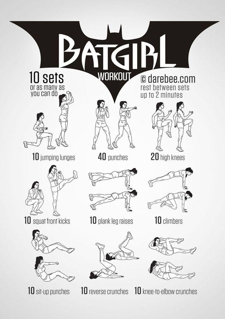 Superhero-Workout
