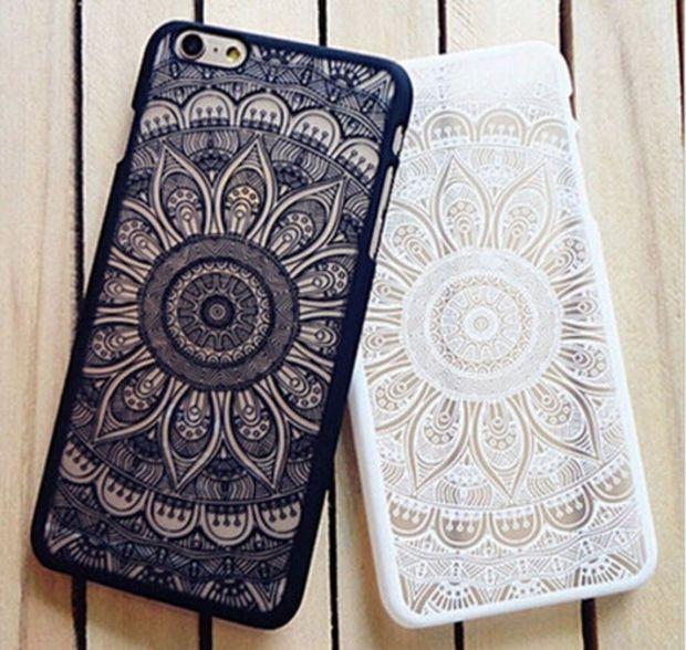 Vintage Lace Floral iPhone 6 6s iPhone 6 6s Plus Case Cover