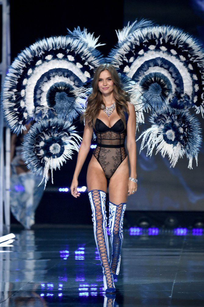 Josephine Skriver - click through to see more photos of the 2017 Victoria's Secret fashion show in Shanghai!