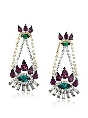 60% OFF Courtney Lee Swarovski Crystal Gabby Earrings