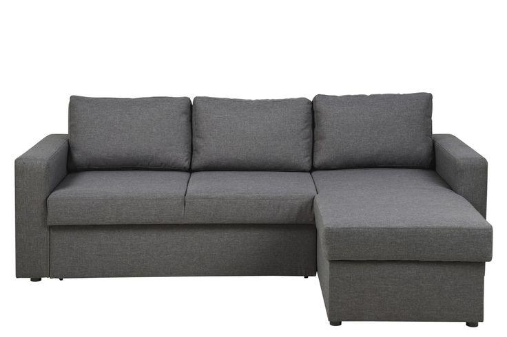 Torino sovesofa grå