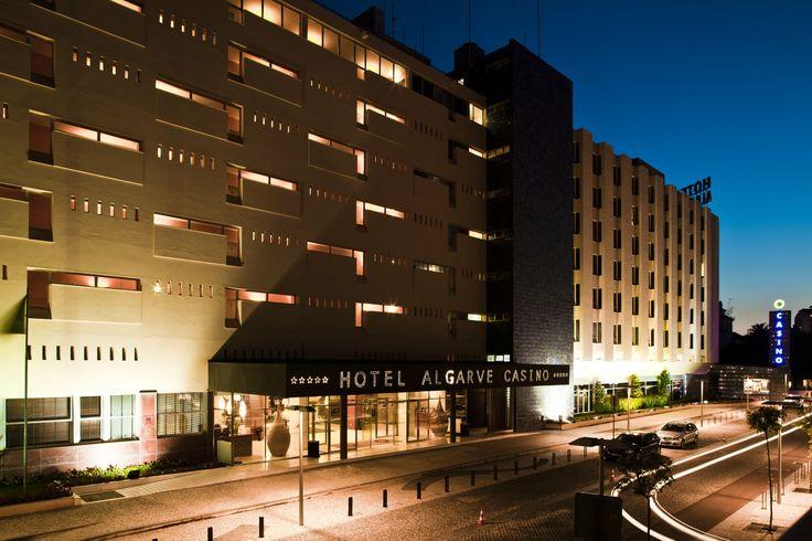 Hotel Algarve Casino entrance