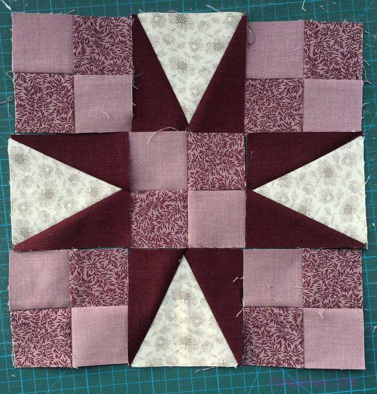 Part 3 - En Provence, Bonnie Hunter Mystery Quilt 2016