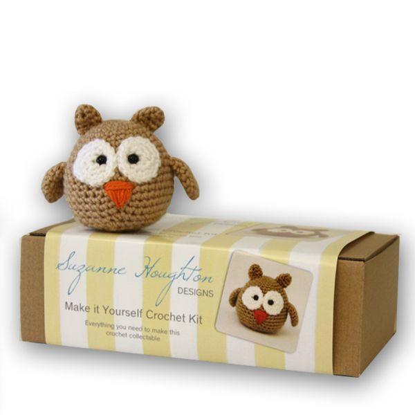 Crochet Owl Kit   Krinkle Gifts