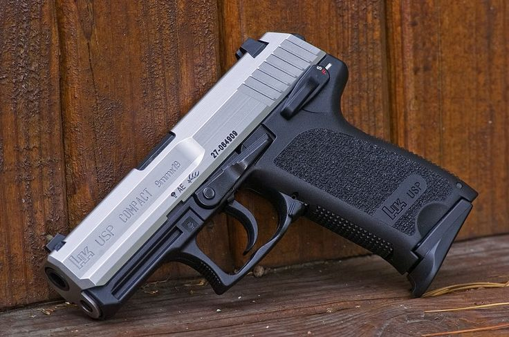 H USP Compact 9mm Stainless