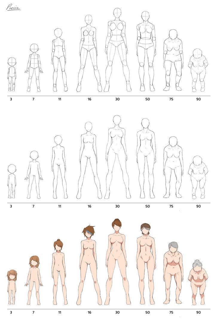 Fullbody aging by Precia-T on DeviantArt