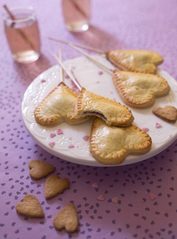 Mini tourtes coeur à la compote de pommes - recette pour la Saint-Valentin - Biodélices