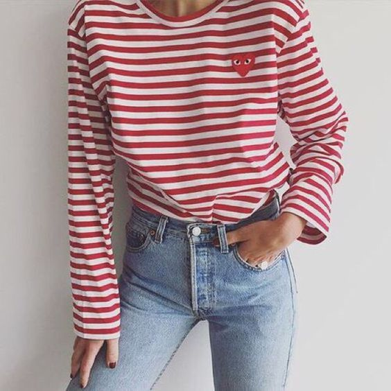 Best 20  Striped long sleeve shirt ideas on Pinterest | Women's ...