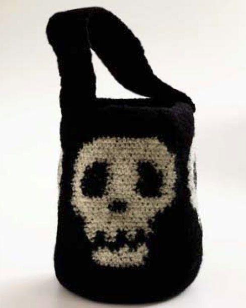 Skull Candy Bag Pattern (Crochet)