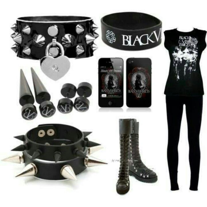 Black Veil Brides outfit. -I so need this outfit!! ^_^