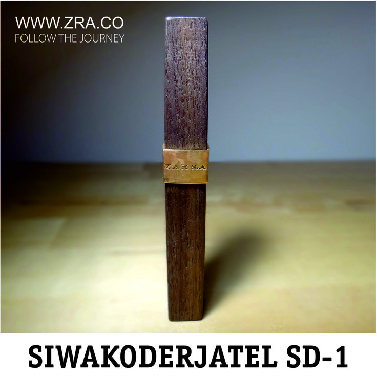 Prototype of new miswak holder SD-1 is ready for testing. #siwak #miswak #siwakoderjatel #miswakholder #sd-1