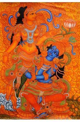 Kamadeva and Rati