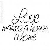 . . . sometimes a house . . . sometimes a home . . .