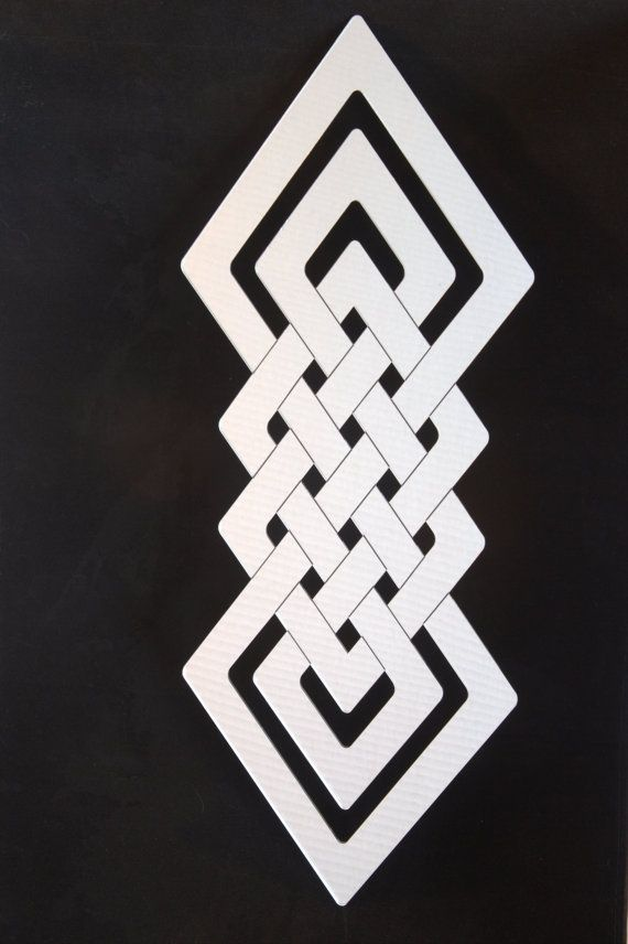 Celtic Knot Mirror by PlainlyStated on Etsy, $57.00