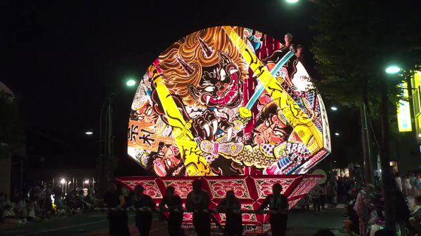 """はち on Twitter: """"道路標識をかわして、ねぷたが行く。 #festival #弘前ねぷたまつり #弘前ねぷた祭り #弘前ねぷた #ねぷた #弘前 #弘前市 #青森 #aomori #japan #ファインダー越しの私の世界 #写真好きな人と繋がりたい #東北でよかった #東北が美しい #iphone https://t.co/18wIH1W0wU"""""""