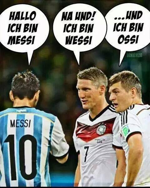 Arrgentinien - Deutschland: WM 2014