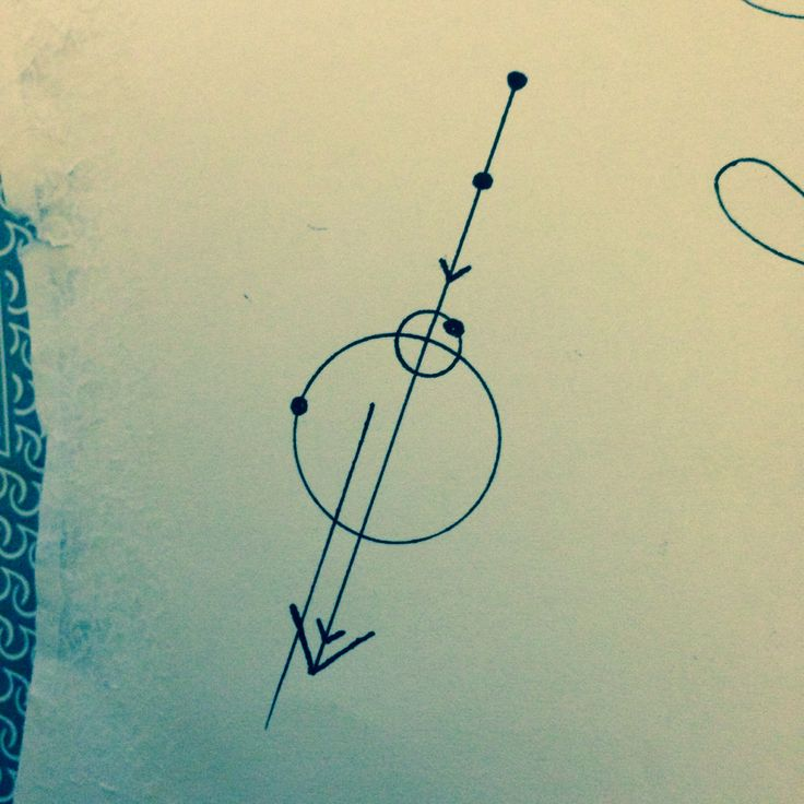 5th Chakra tattoo Idea: An arrow can only be shot by pulling it backward. So when life is dragging you back with difficulties, it means that it's going to launch you into something great. So just focus, and keep aiming.