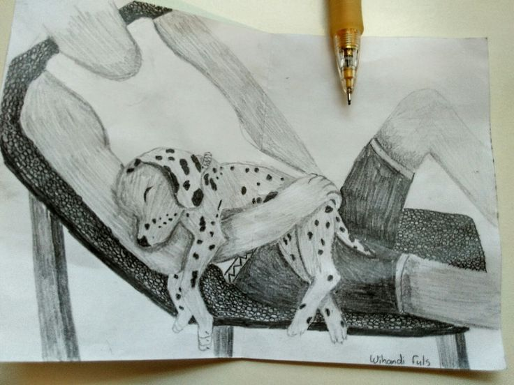 Amazing drawing done by 13 year old Wihandi Fuls