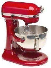 Remanufactured KitchenAid RKV25G0XER Professional 5 Plus 5-Quart Stand Mixer, Empire Red