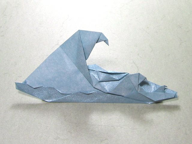 Waves (Peter Engel) | Happy Folding | waves from paper ... - photo#47