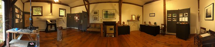 Columbus Day Weekend Open Studio with Ailyn Hoey Charcoals and Mark Goodenough Metalworks. Rockingham, VT.