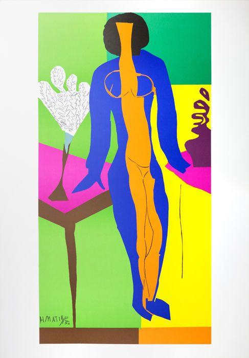 Henri Matisse (na) - Zulma  Henri Matisse (na) - ZulmaLithografie op BFK Rives papierPlaat ondertekend-uit de editie van 200.Copyright van de erfopvolging van Matisse & de uitgeverAfmetingen 63 x 90 cm (24.8x35.4 in)Ons bedrijf Artvalue.com en haar dochteronderneming Art-lithografieën gedrukt en dat lithografie in 2007 gepubliceerd. Het werd in onze atelier van Art-lithografieën in Parijs met dikke pur chiffon BFK Rives papier gedrukt. De laatste editie van Matisse litho's die ooit…