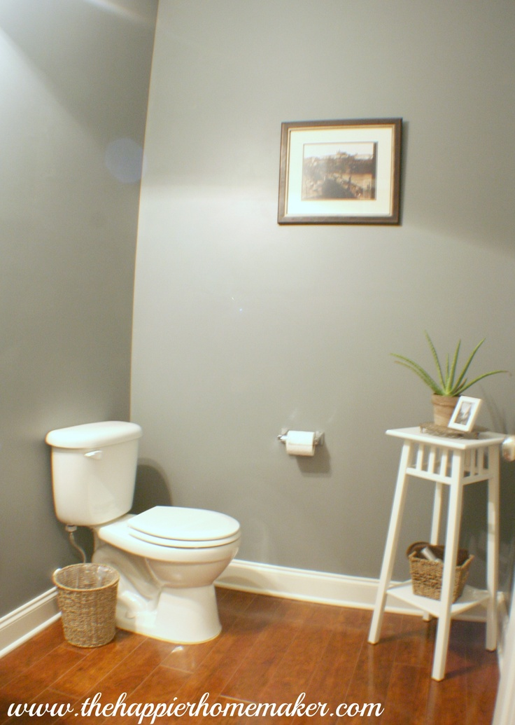 room paint color benjamin moore 39 s shaker gray powder room ideas