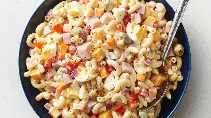 Ensalada de coditos (macaroni salad) is an old favorite among Puerto Ricans and it's a dish enjoyed by many children, too. Just like the potato salad, it's easy to prepare as well. We can't exactly say that this meal is native to the island, but we have adopted it into our recipe collections for Christmas parties and special occasions.