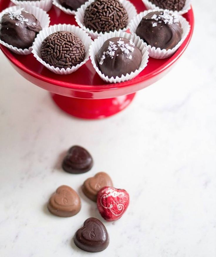 Dove Chocolate - Treat the one you love to Salted Dark Chocolate Truffles.
