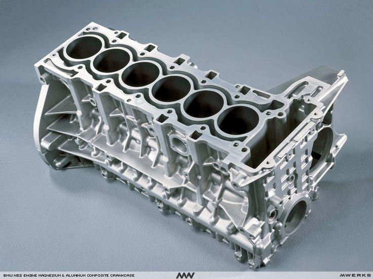 bmw n52 magnesium aluminum inline 6 cylinder engine block. Black Bedroom Furniture Sets. Home Design Ideas