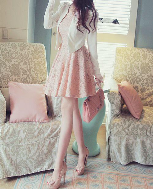 cute fashion | pastel colors