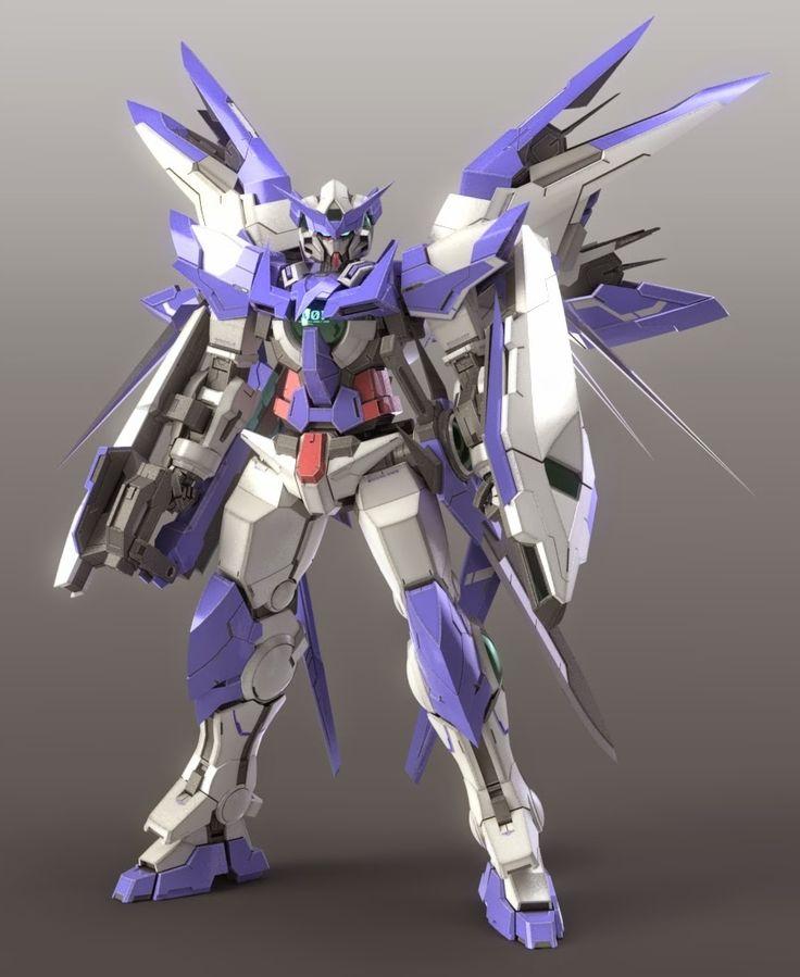 gundam build fighters digital fan art amazing exia full