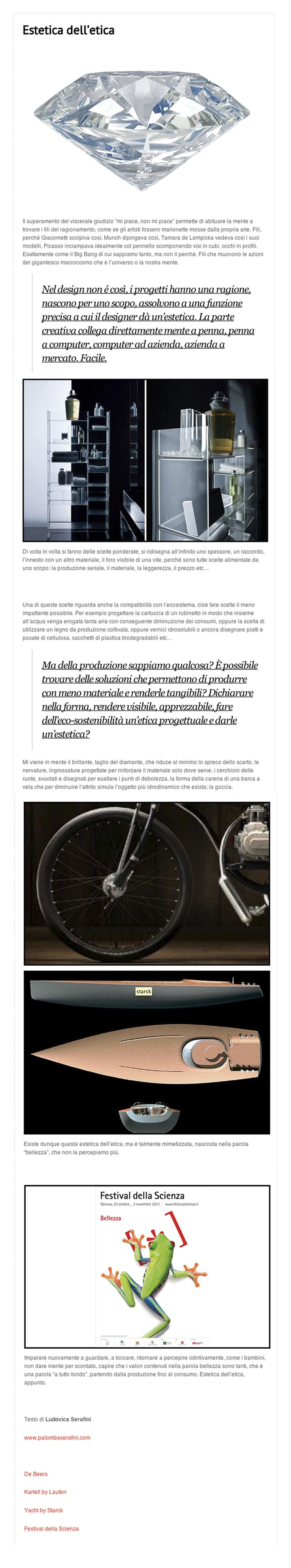October 7th 2013   Ludovica Palomba #blog for @casatrend+     http://www.casatrendmag.it/1683/
