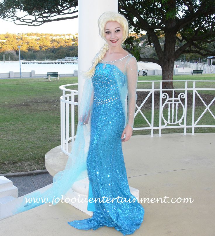 This beautiful Snow Queen would love to come to your party in Sydney, why not invite her?