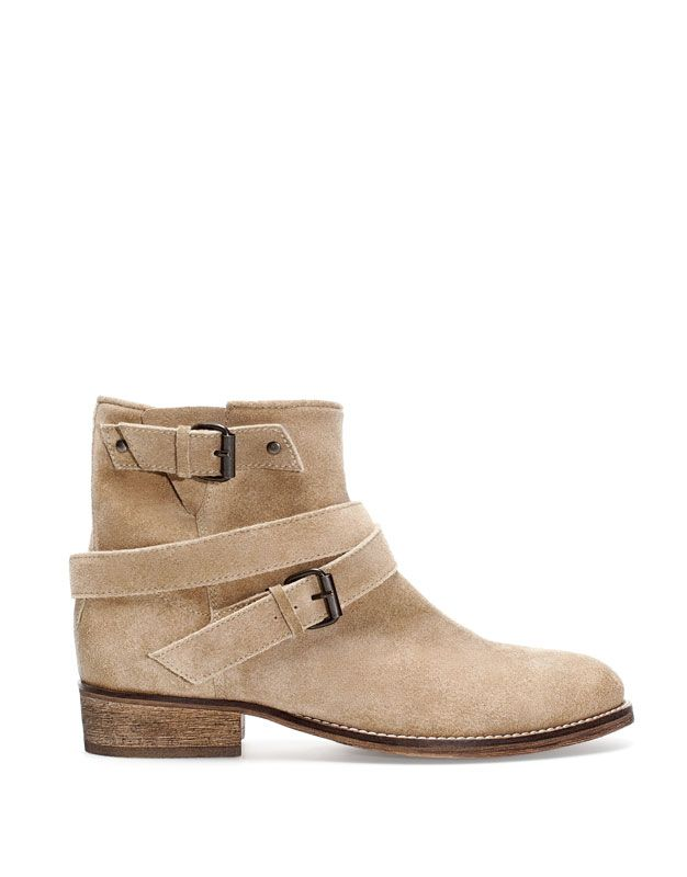 HIDE STRAP ANKLE BOOTS - · Boots and ankle boots - FOOTWEAR - PULL&BEAR Ukraine, 999 uah