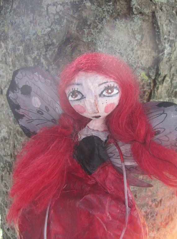 OOAK doll-Art doll Butterfly haze victorian par MlleCelesteArtdoll
