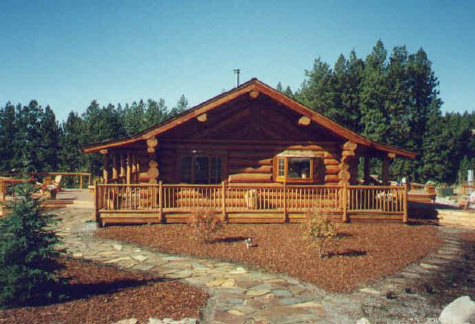 Log Cabin Kits Log Houses And Logs On Pinterest
